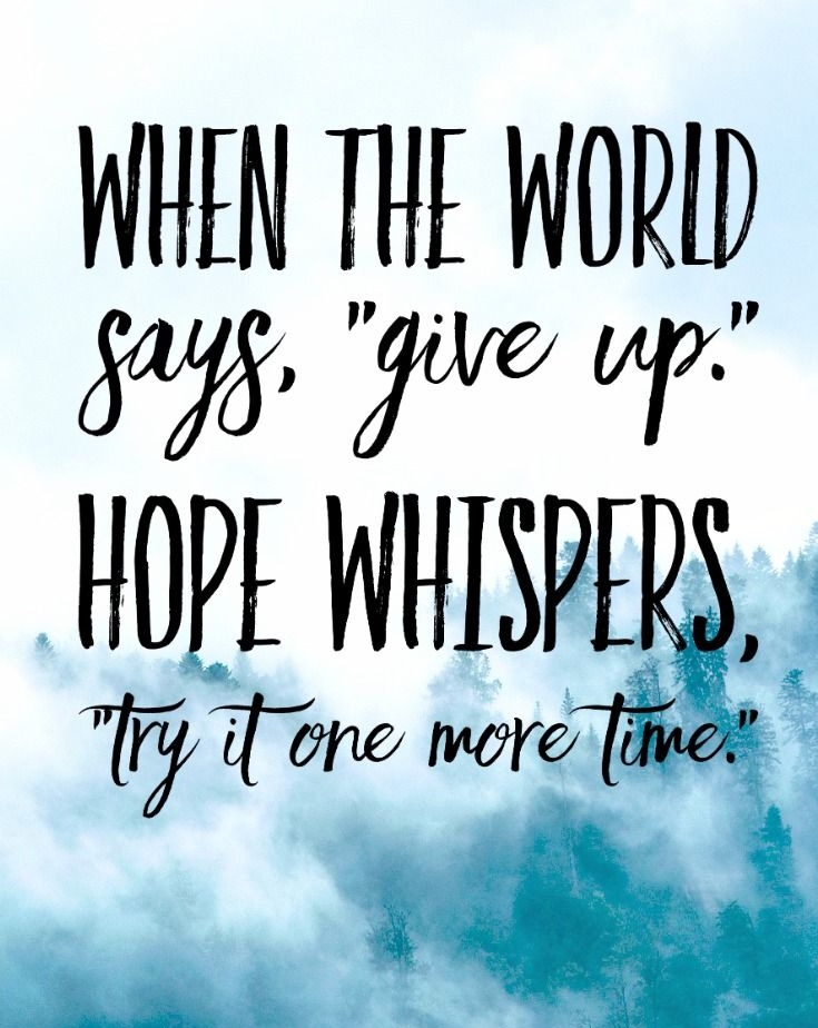Losing Hope And Interest Quote Motivational Quotes For Hope Pics 15+ Don't Lose Hope Quotes With